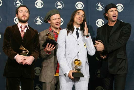Red Hot Chili Peppers ganan grammy